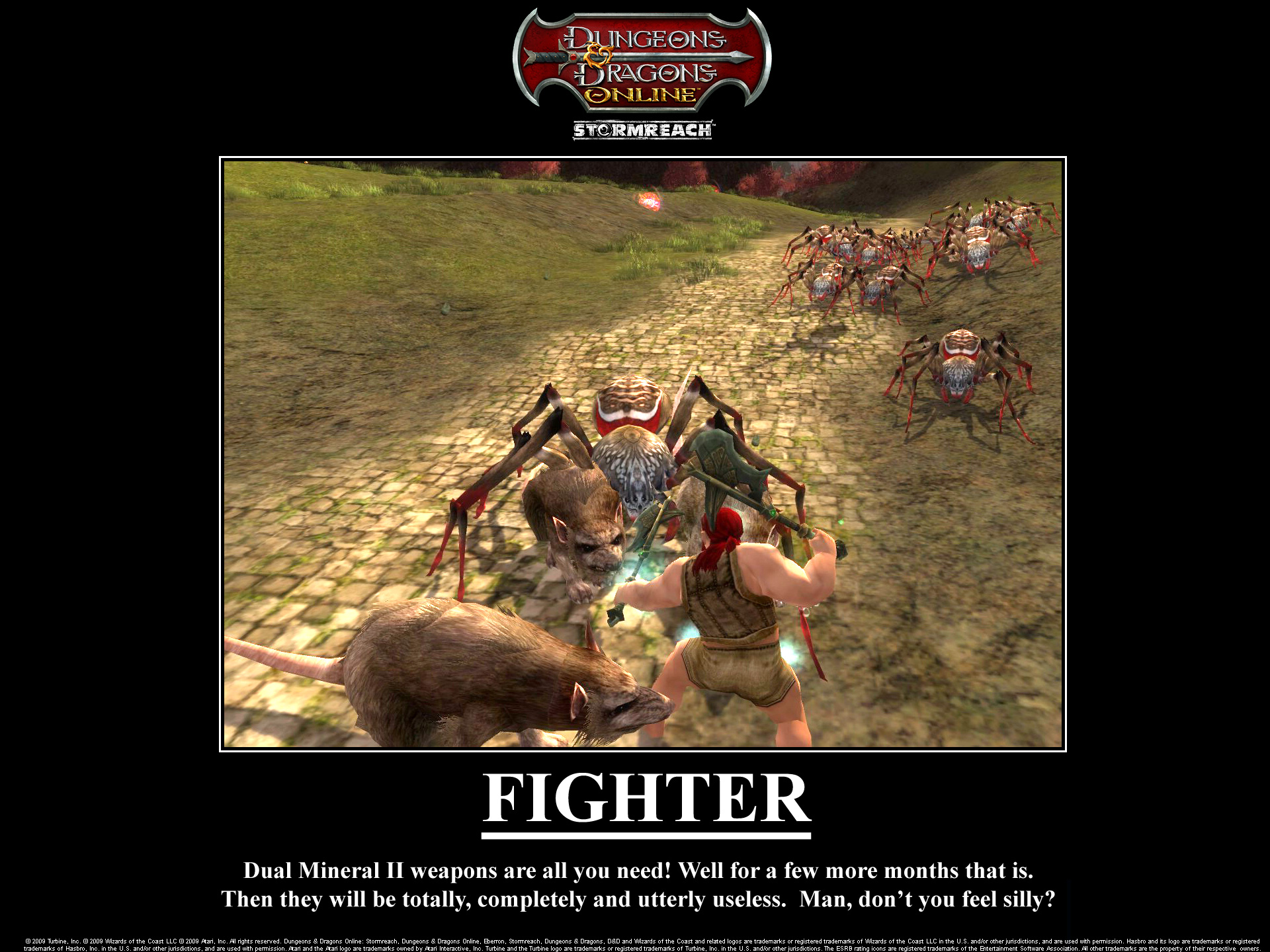 Motivational Poster Contest! [Archive] - Dungeons & Dragons Online ...